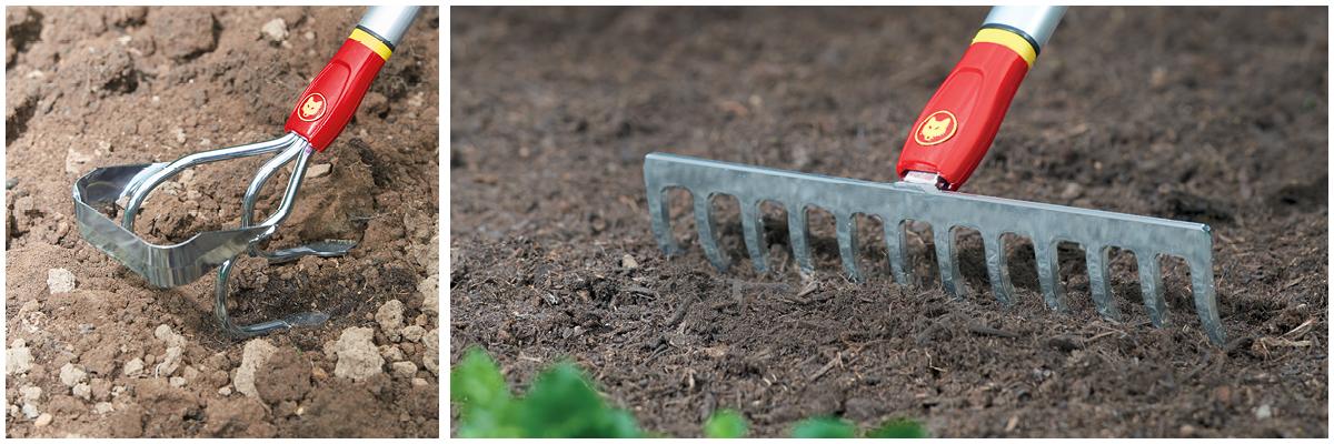 WOLF-Garten Rake and Cultivator