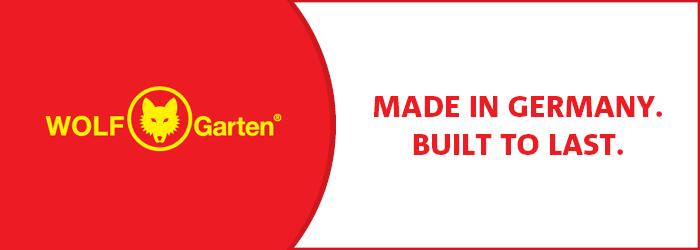 WOLF-Garten Built to Last
