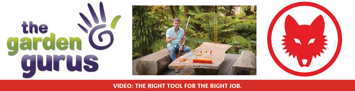 The right tool for the right job!